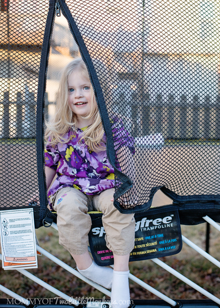 Keeping Your Kids Active During the Winter Months with Springfree Trampoline