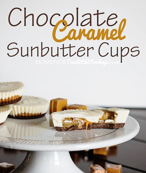 Nut Free Chocolate Caramel Sunbutter Cups Recipe