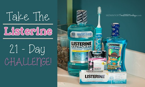 Listerine Oral Care 21 Day Challenge!