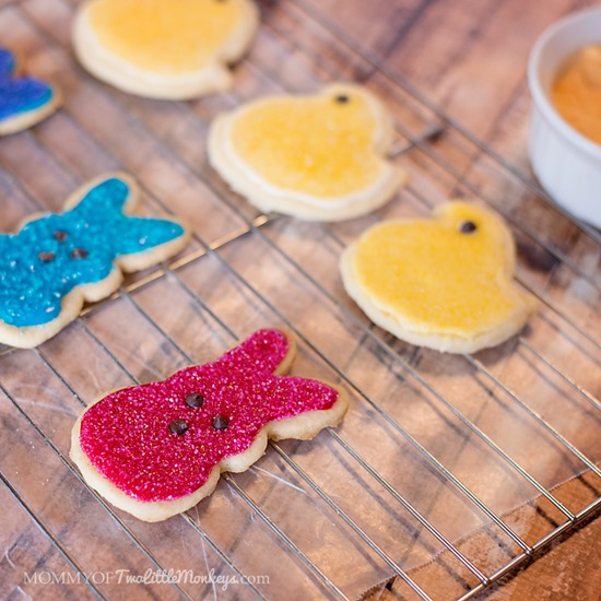 Peeps Easter Sugar Cookies Recipe