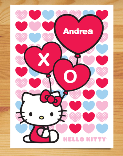 Create a Memorable Valentines Day with Cardstore – Hello Kitty Valentine Cards