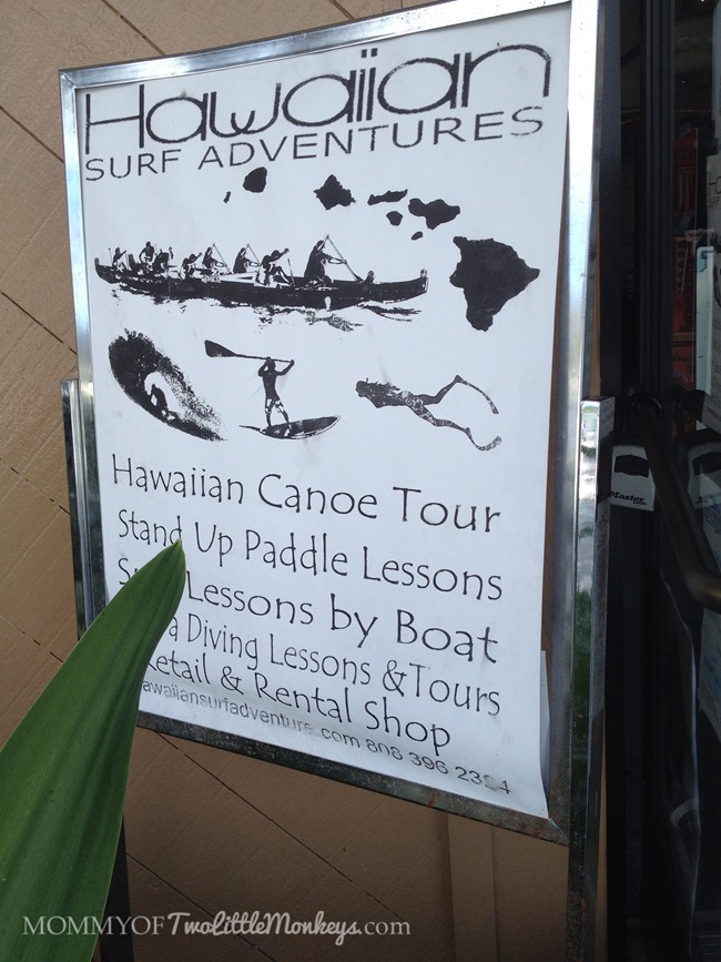 Hawaiian Surf Adventures - Authentic Hawaiian Canoeing #BabyMoon