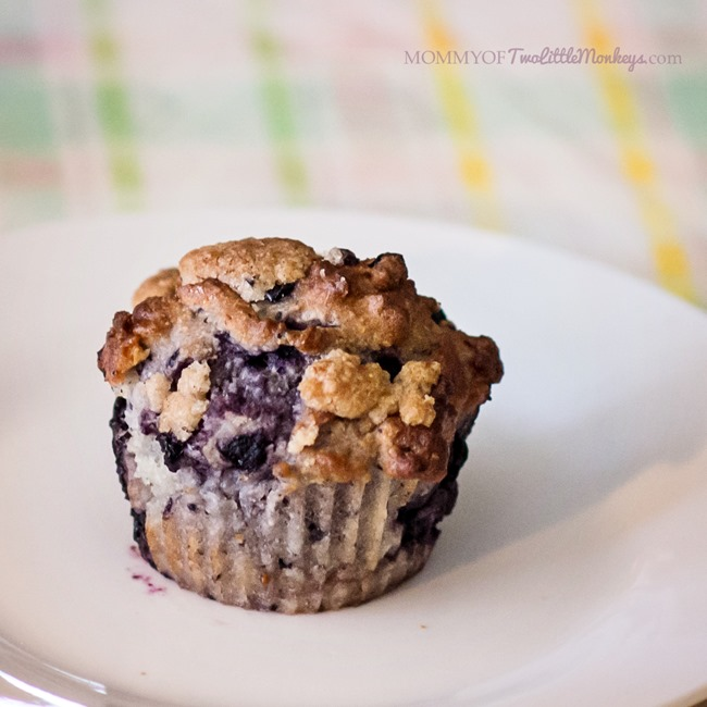 Coconut Blueberry Muffins with Crumb Topping – Gluten Free!