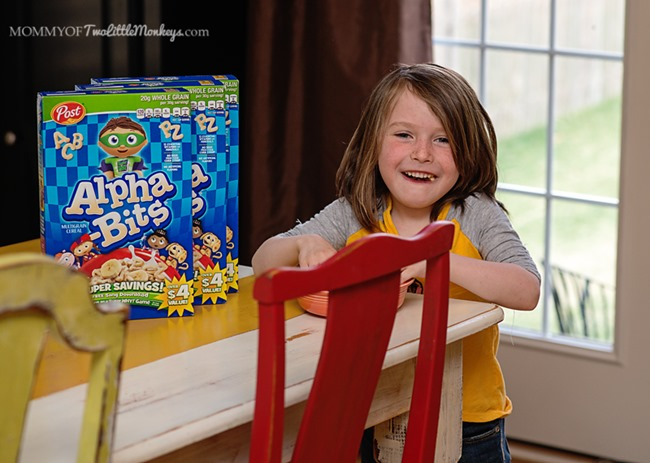 Instill a Love of Reading Into Your Kids with Alpha-Bits Cereal – Crafts & Snacktivities