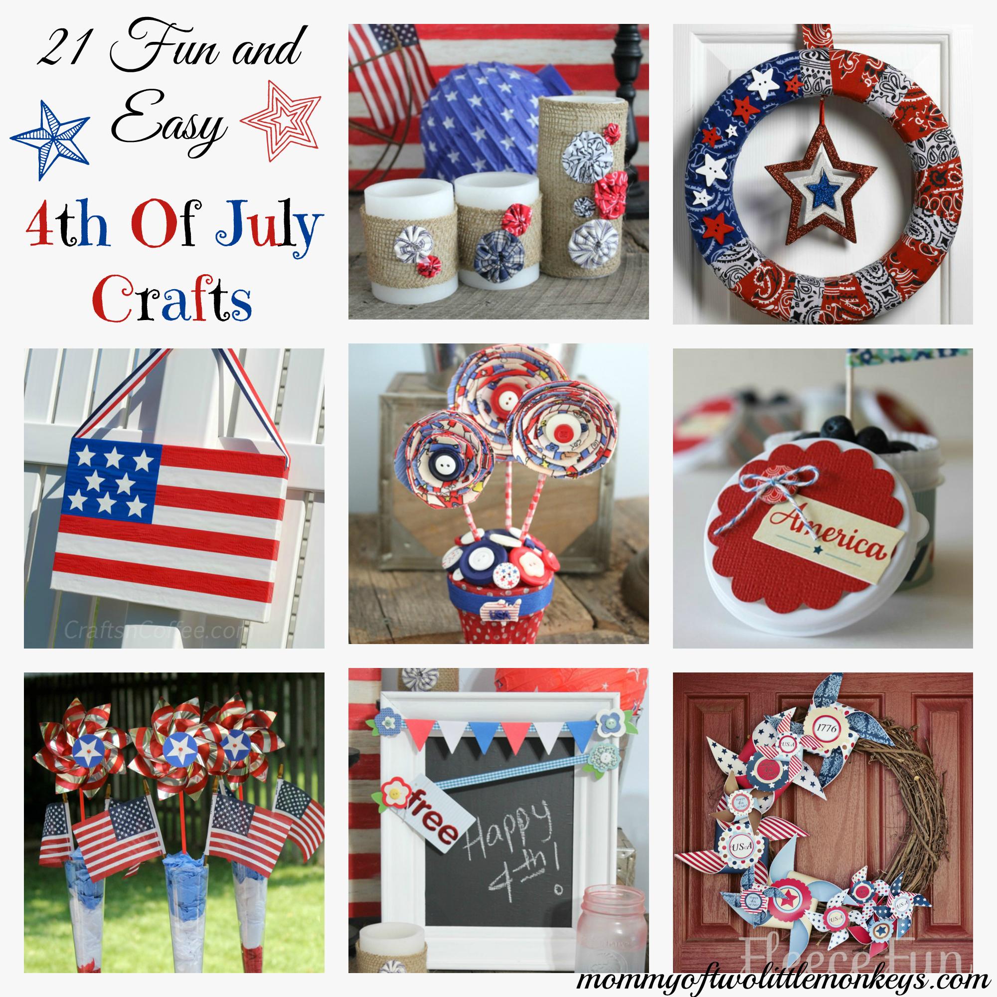 arts crafts diy 21 fun easy 4th of july crafts