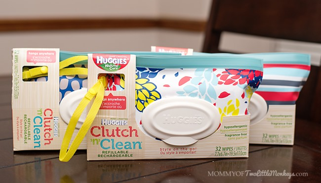 Stylish Baby Wipes for Every Mom on the Go #HuggiesMomStyle