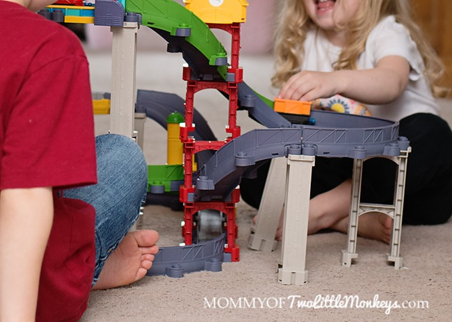 How High Can Your Build Your Chuggington StackTrack Playset