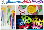 20 Summer Kids Crafts - Awesome boredom busters!