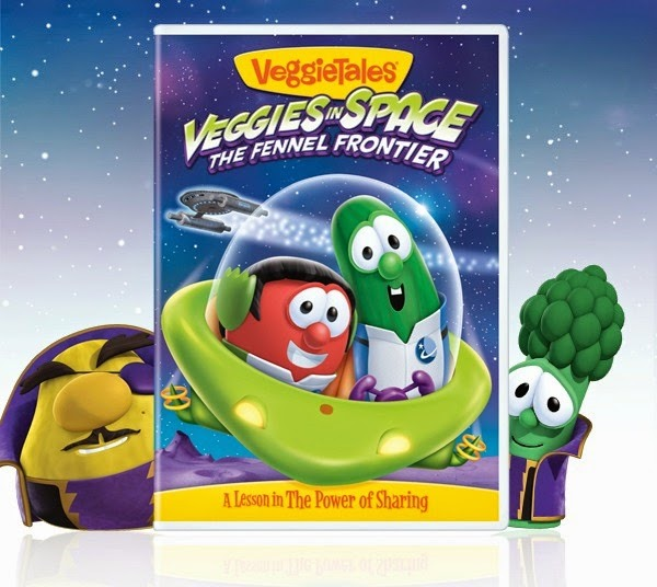 Veggie Tales – Veggies in Space DVD & Build Your Child's Library Sweepstakes