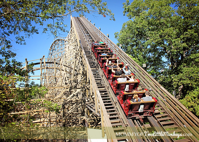 Outlaw Run Silver Dollar City Roller Coaster