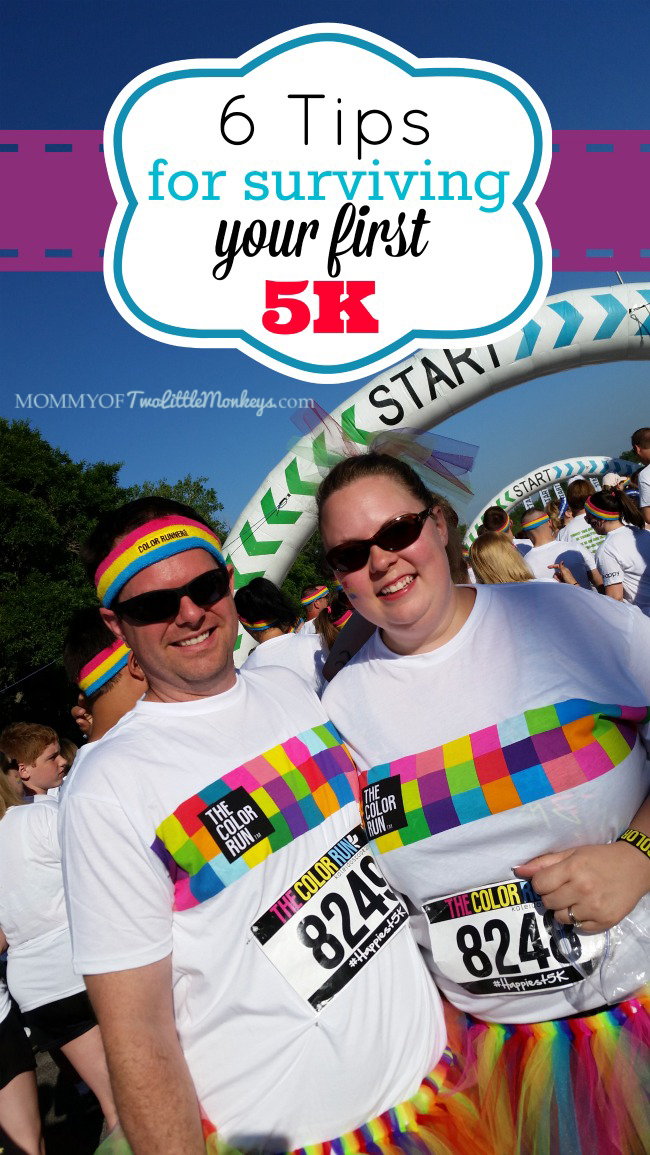 6 Tips for Surviving Your First 5k - The Color Run Kansas City!
