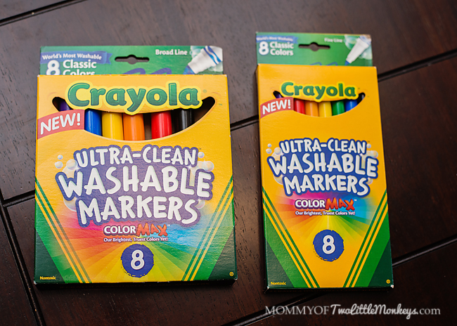 Crayola Introduces Ultra-Clean Markers and ColorMax!