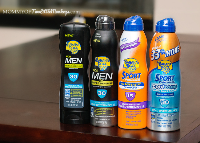 Banana Boat's Triple Defense Suncreen For Men #BBBestSummer #sponsored #MC