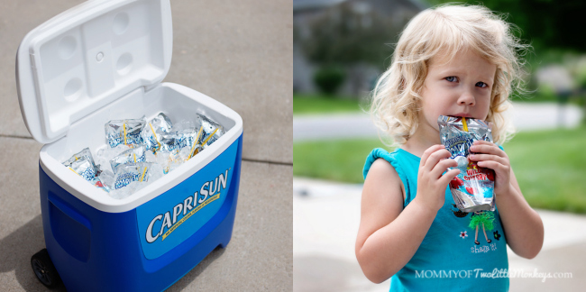 Keeping Our Summer Cool with Capri Sun #CapriSunMomFactor