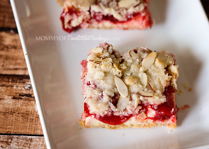 Sinfully Delicious Cherry Cheesecake Bars