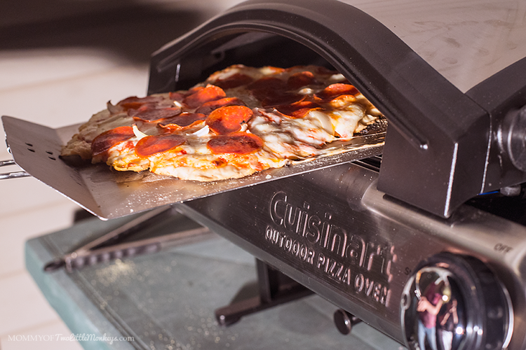 Gluten Free Pizza with the Cuisinart #Alfrescamore Pizza Oven