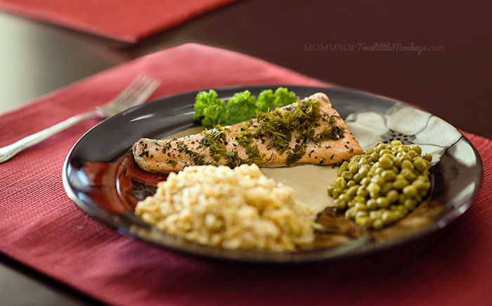 Easy & Delicious Herbed Salmon