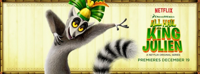 Ringing in the New Year with All Hail King Julien! Netflix Original