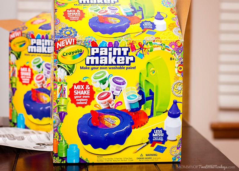 Crayola Paint Maker - Holiday Gift Idea for Kids!