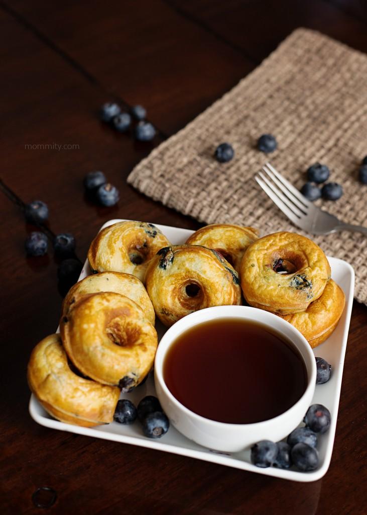 Greek Yogurt Blueberry Pancake Recipe