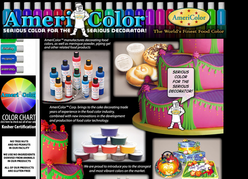 Food Coloring : Icing Gels - Peanut Safe Alternative to Wilton