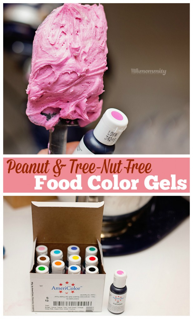 Food Coloring : Icing Gels - Peanut Safe Alternative to Wilton