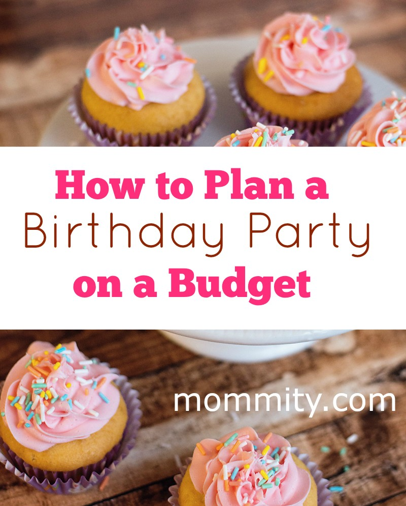 Birthday party planning on a budget can be done easy with these great tips. I especially love the tips about party favors!