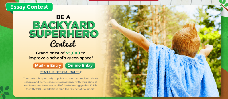Help the Environment & Be a Backyard Superhero!