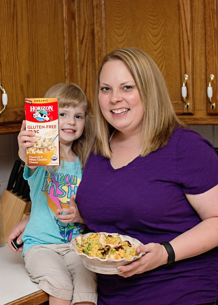 Gluten Free Dinner Recipes with Horizon Organic Mac and Cheese! Perfect for a quick and easy, last minute dinner idea.