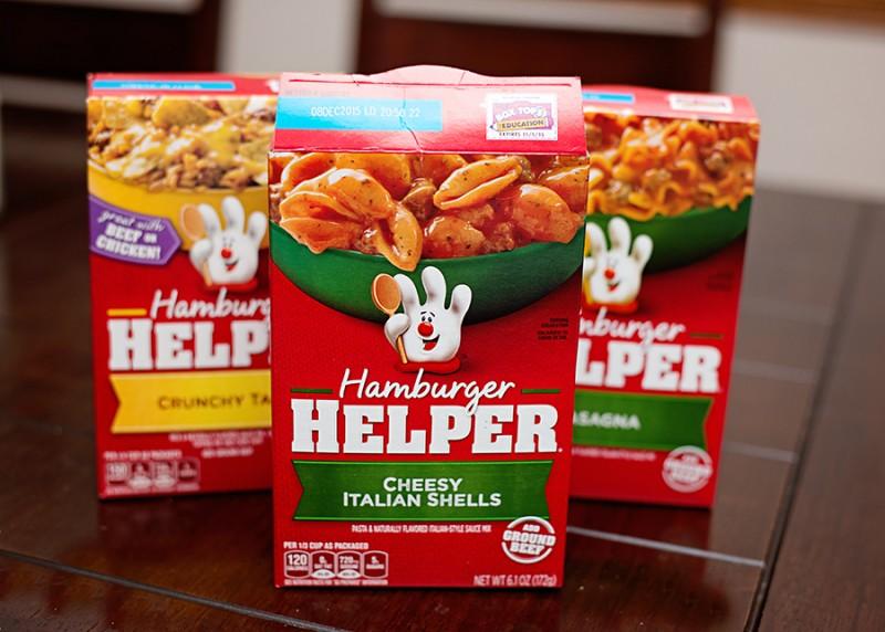 Make an Easy Dinner with Hamburger Helper! Free Ground Beef Rebate