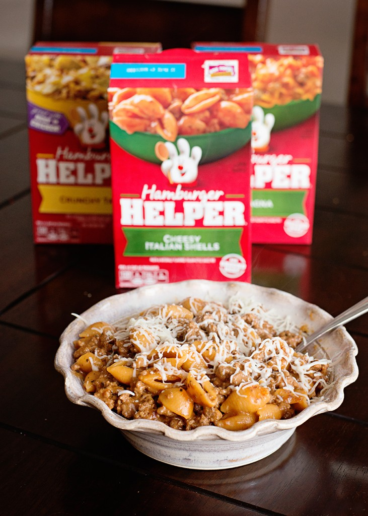 Make an Easy Dinner with Hamburger Helper! Free Ground Beef Rebate