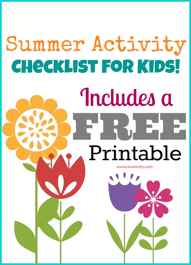 Working on your summer bucket list of things to do with the kids? Grab this free printable of 75 fun things to do on a budget!