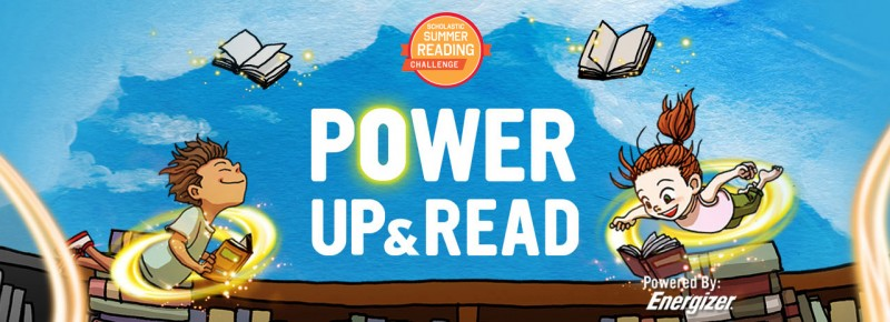 Get Your Kids Energized About Reading in Scholastic's Summer Reading Challenge
