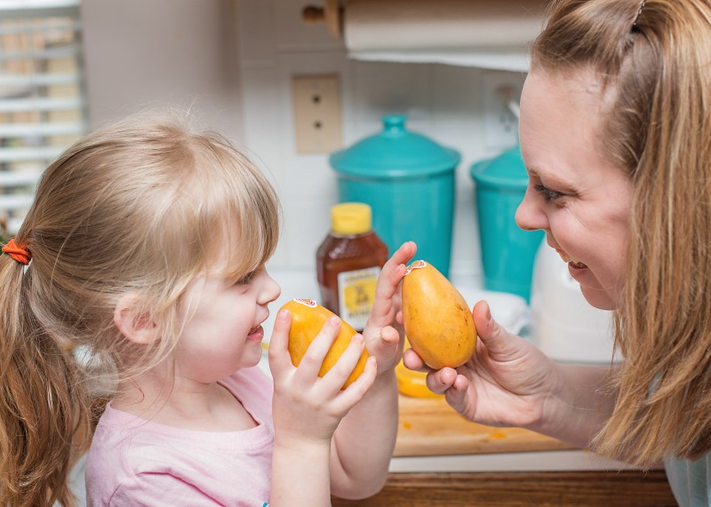 Summertime Changes to Help Your Family Become Healthier - Trying new foods!