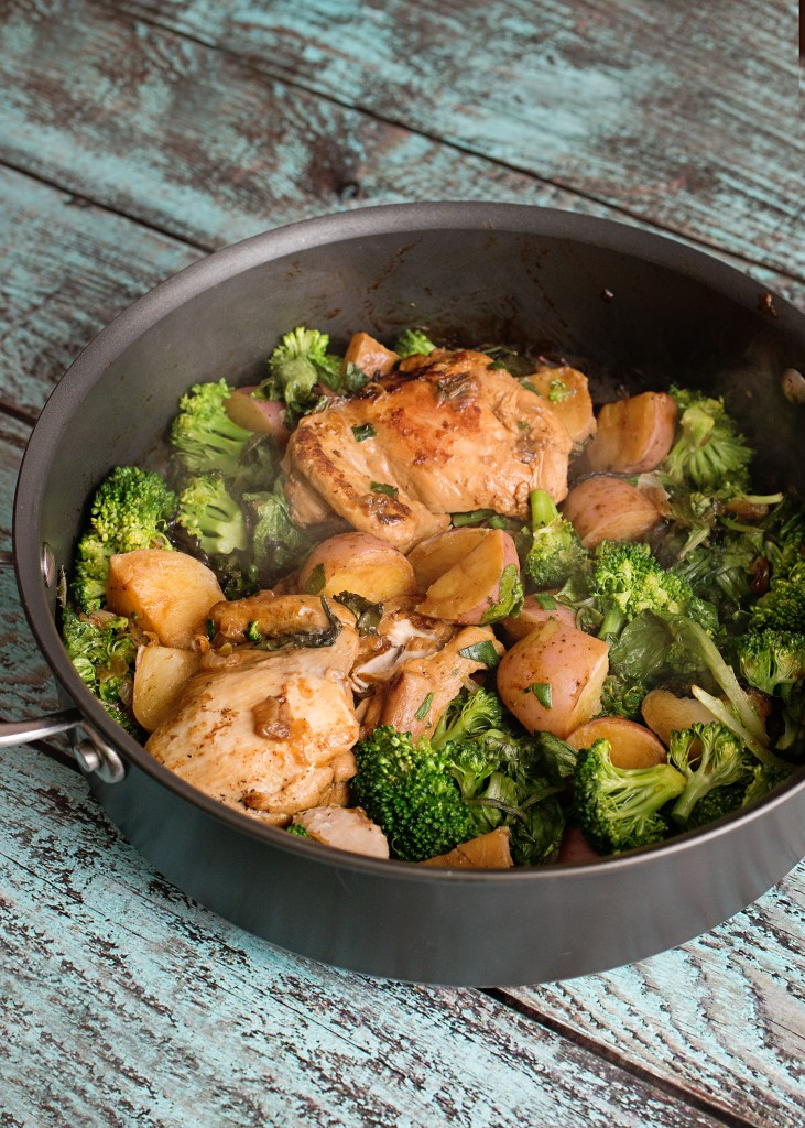 Summertime Changes to Help Your Family Become Healthier - Spring Vegetable & Chicken Casserole Recipe