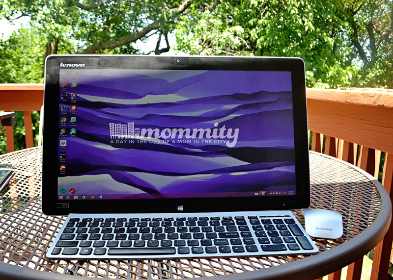 Why the Lenovo Horizon 2S is the Perfect Device for a Work at Home Mom #IntelAIO