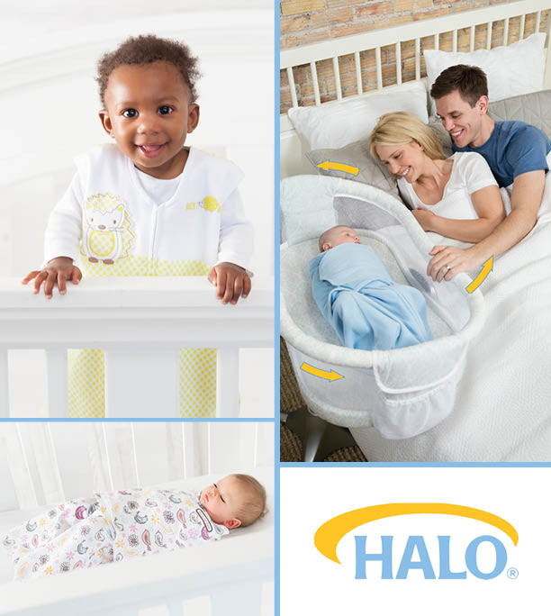 Safe Sleep from the Start - HALO Bassinet & Swaddle Giveaway!