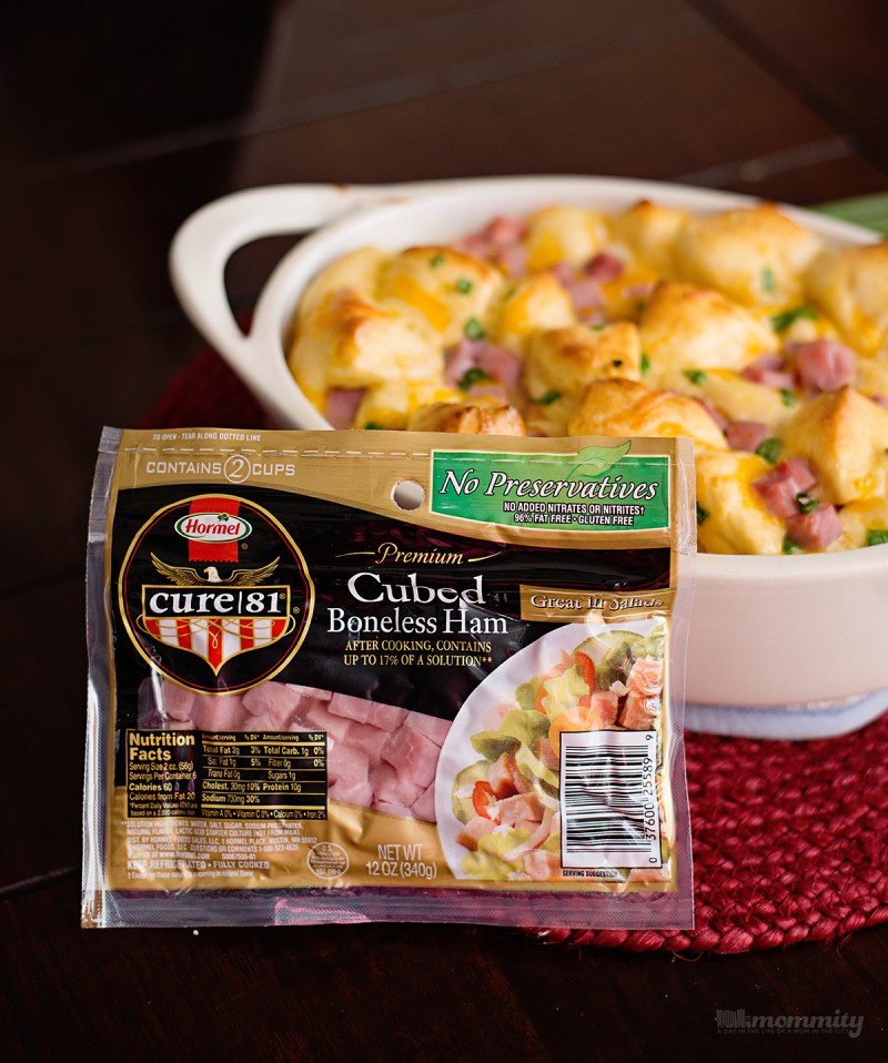 Ham, Egg and Cheese Monkey Bread - Make Ahead, Heat & Eat!