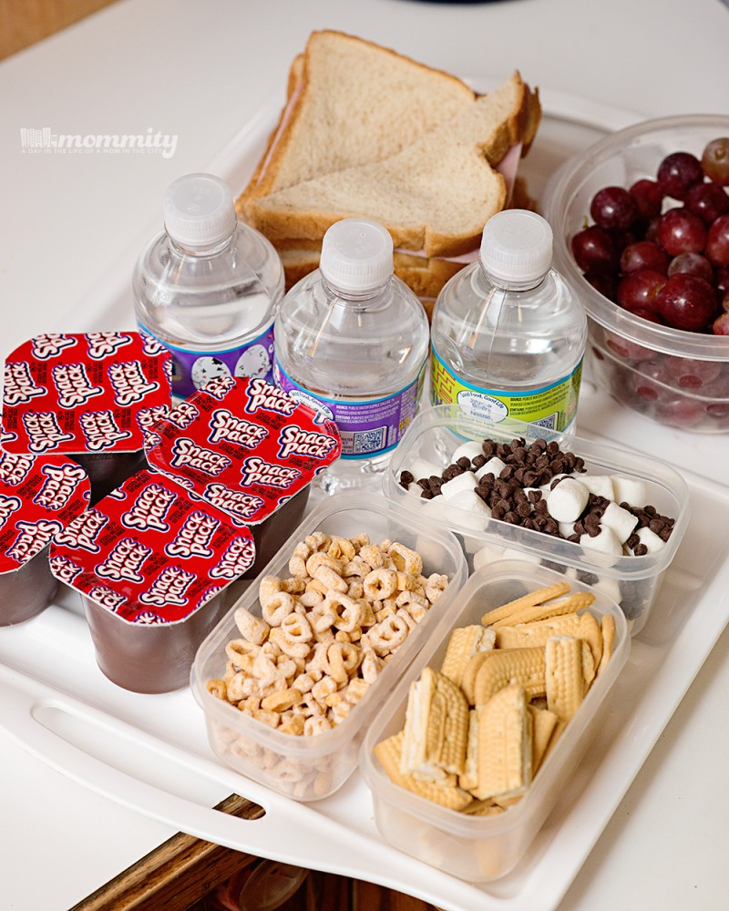 Back-To-School Themed Picnic! Snack Pack Mix-In Bar