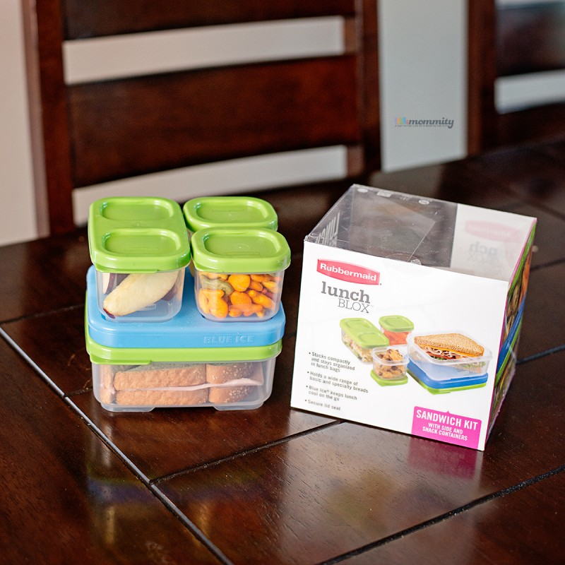 The Most Versatile Lunchbox Solution! Rubbermaid LunchBlox #BloxOff
