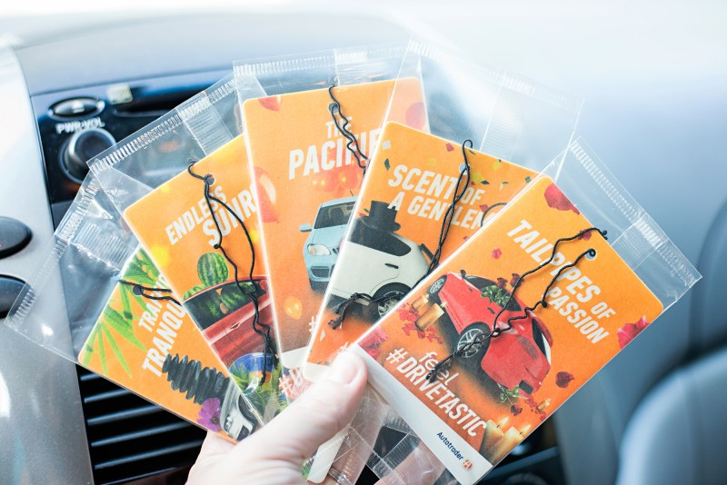 Get That Drivetastic Feeling with AutoTrader - $50 AMEX & Air Freshener Giveaway! {4 Winners}