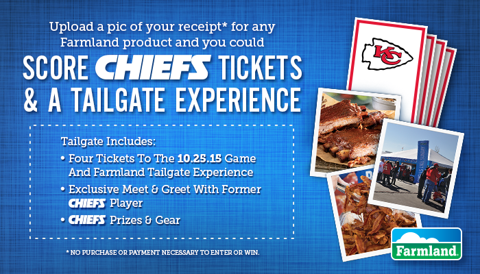 Tailgating in a Sea of Red with Bacon! Chiefs Tailgating Experience Sweepstakes