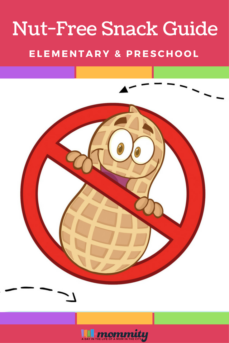 Nut Free Snack Guide for Elementary & Preschools