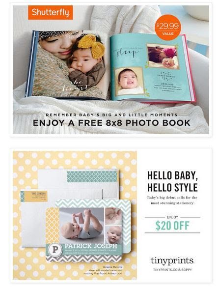 Capture Baby's Precious Moments with Boppy, Shutterfly and Tiny Prints