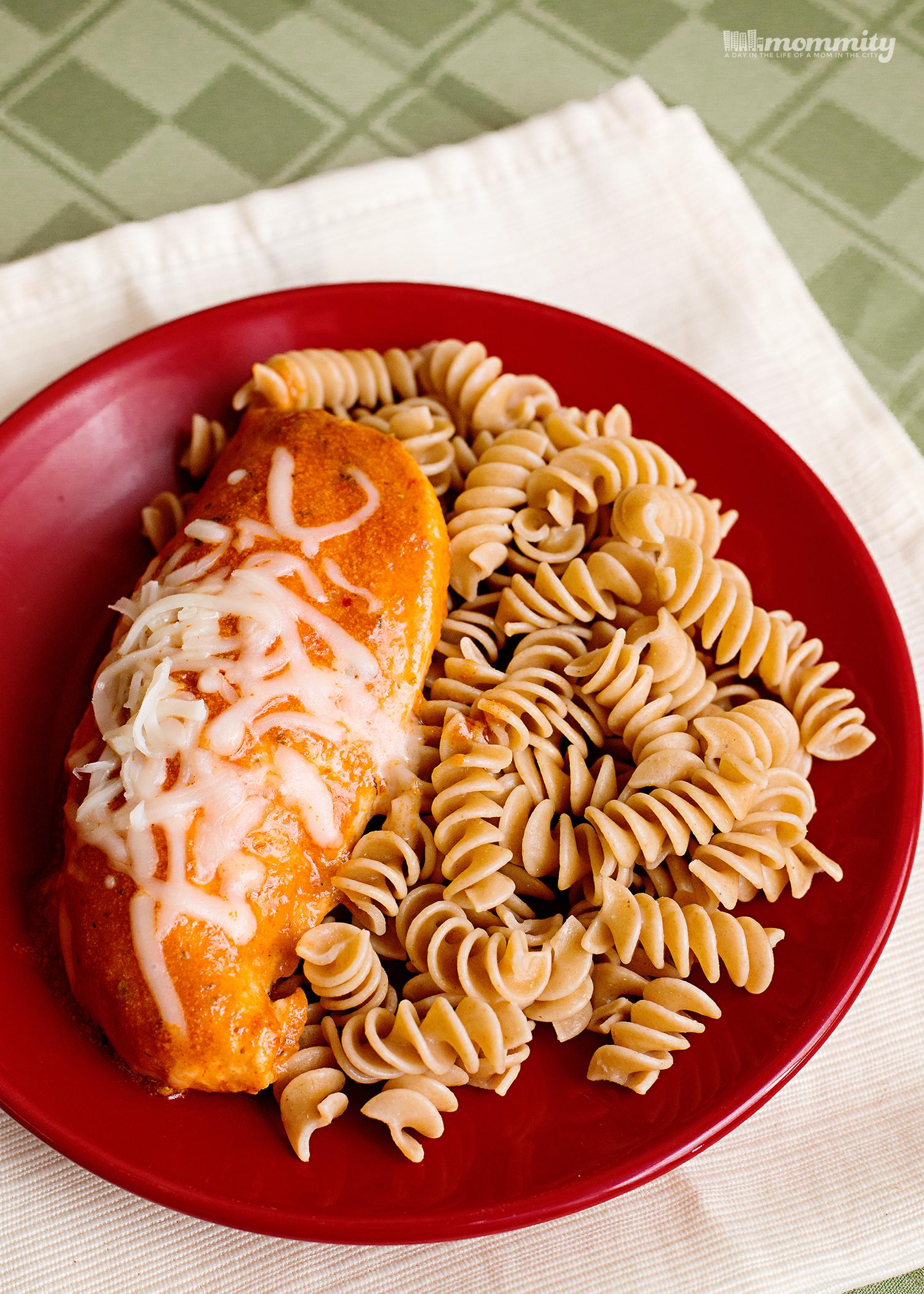 Cooking Easy & Light During Blue October - Chicken Mozzarella