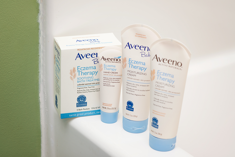 Break the Cycle of Irritated Skin with the Aveeno Eczema Regimen