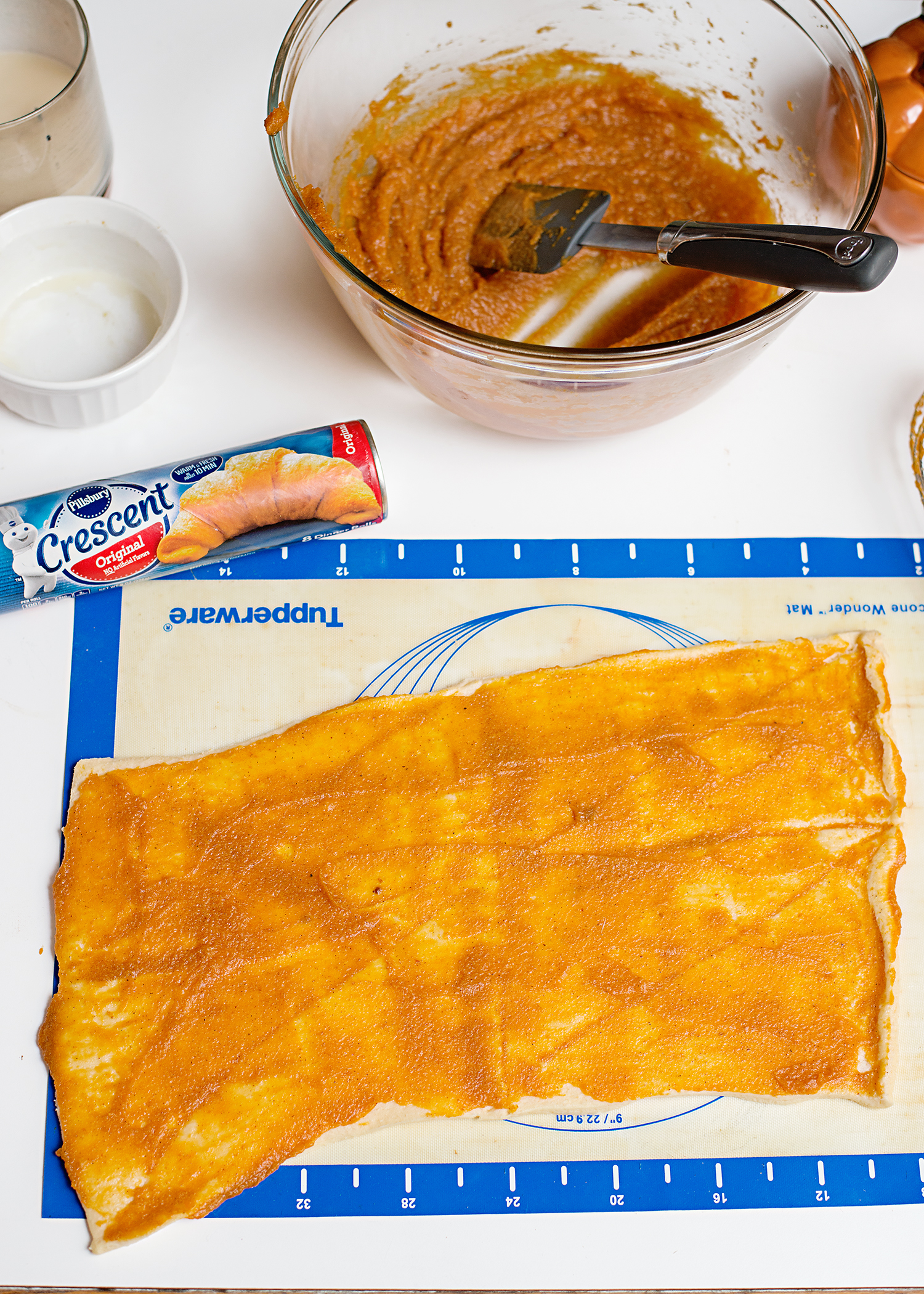 Pumpkin Pie Cinnamon Rolls - A Thanksgiving Breakfast Tradition!