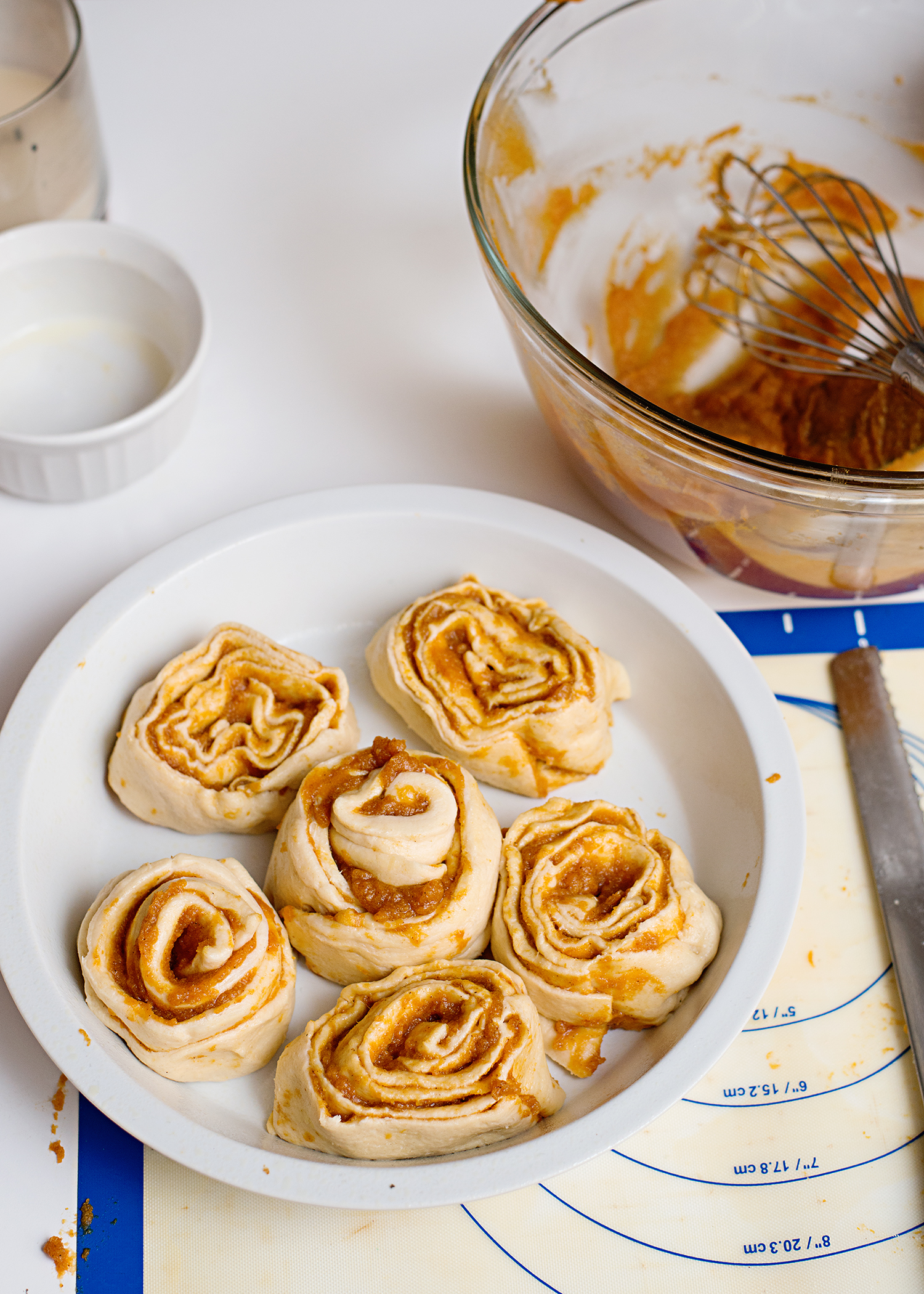 Pumpkin Pie Cinnamon Rolls - A Thanksgiving Breakfast Tradition!