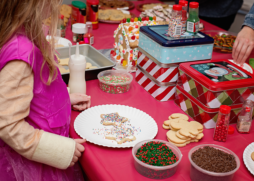 How We Hosted a Stress-Free Christmas Cookie & Coffee Party