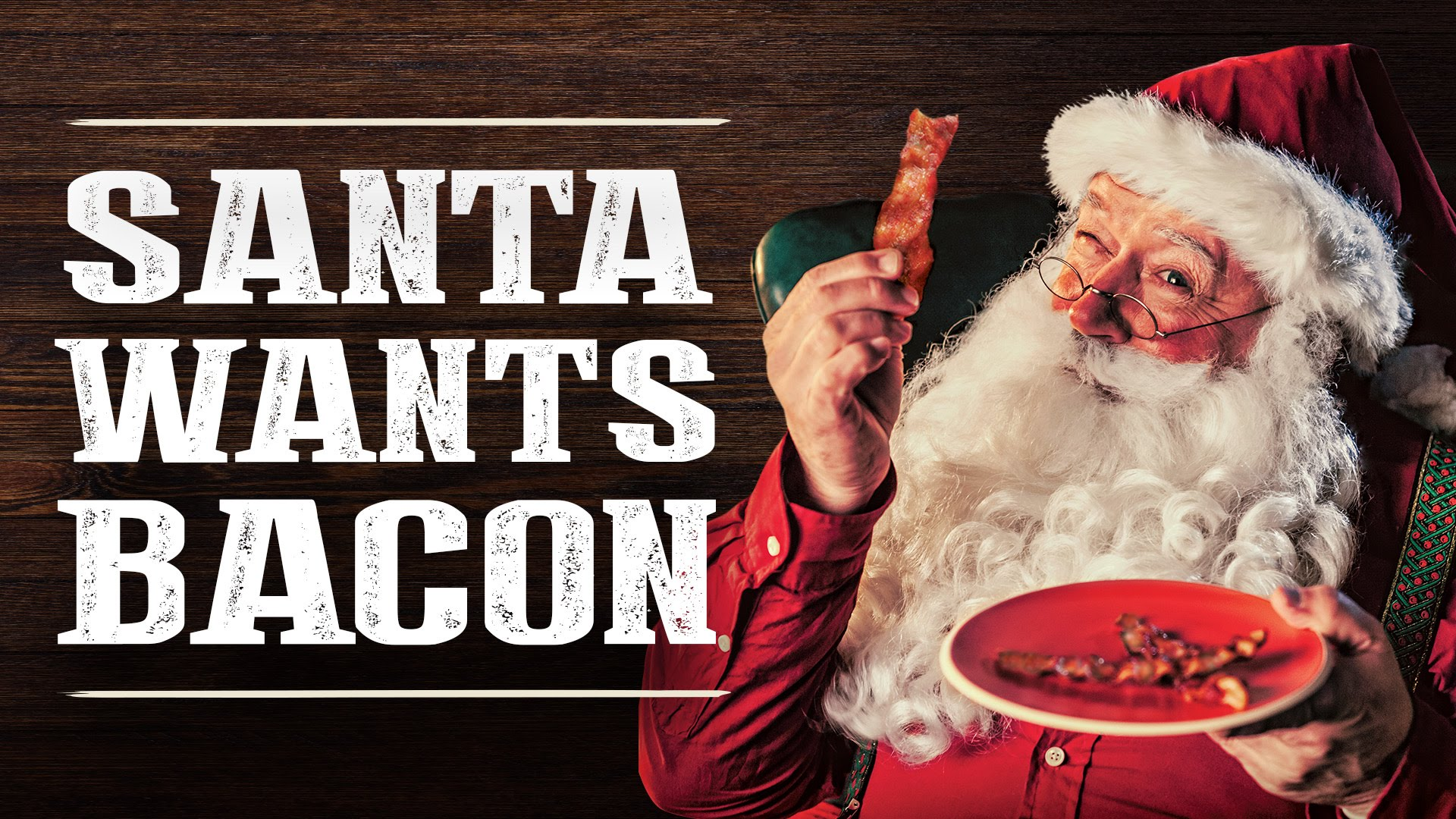 Get Off the Naughty List and Give Bacon to Santa!